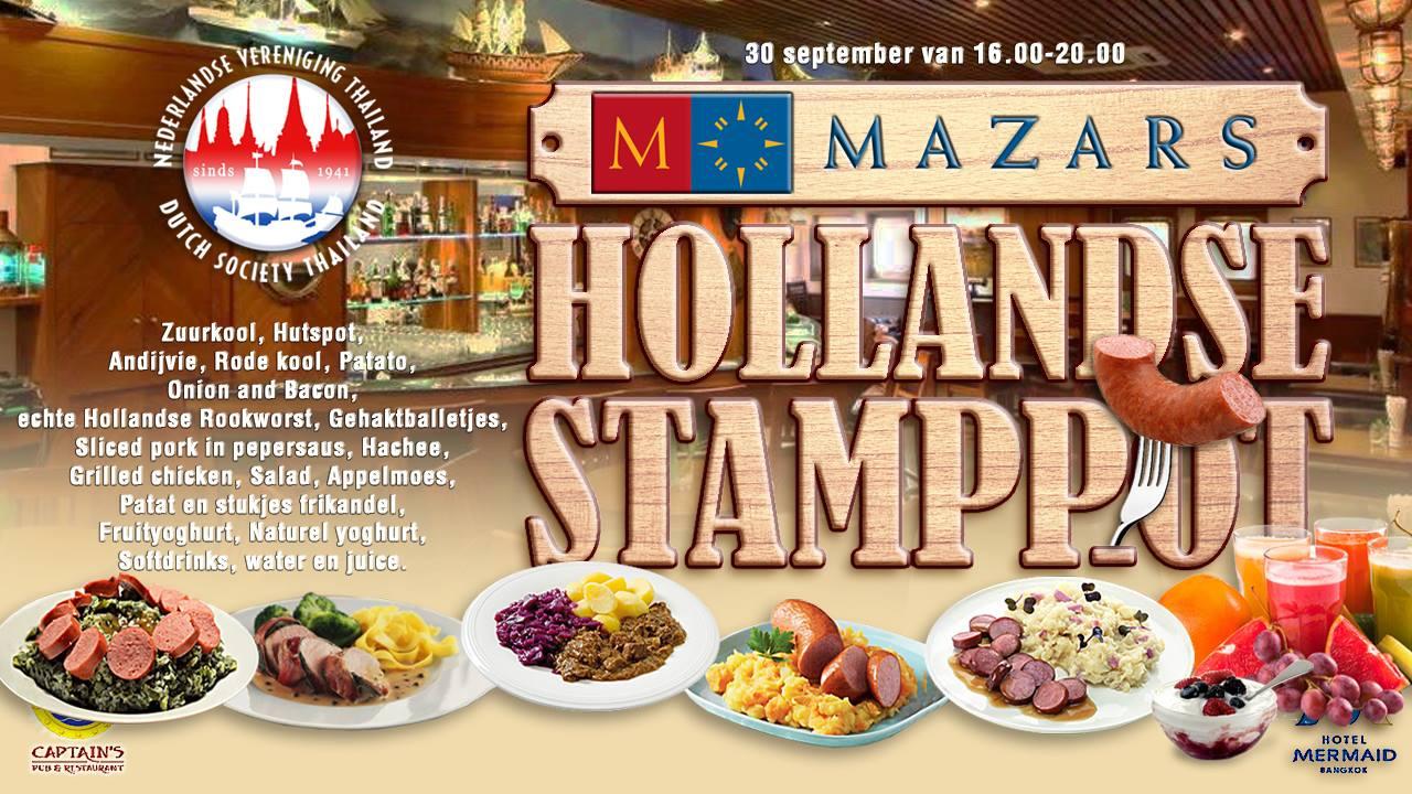 Het Grote MAZARS Hollandse Stamppot Evenement